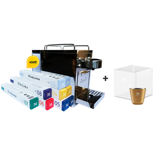 Picture of Espresso and Lungo Coffee Machine + 60 Capsules